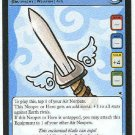 Neopets #85 Sword Of The Air Faerie Rare Card Unplayed