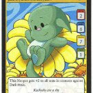 Neopets CCG Base Set #33 Green Kacheek Rare Game Card