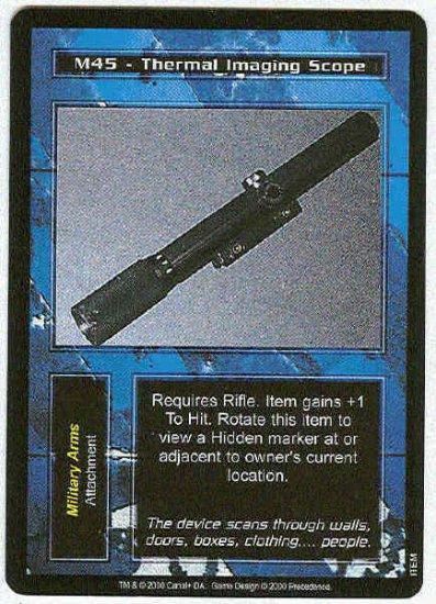 Terminator CCG M45 Thermal Imaging Scope Uncommon Card