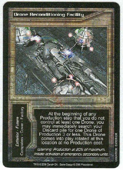 Terminator CCG Drone Reconditioning Facility Uncommon Card