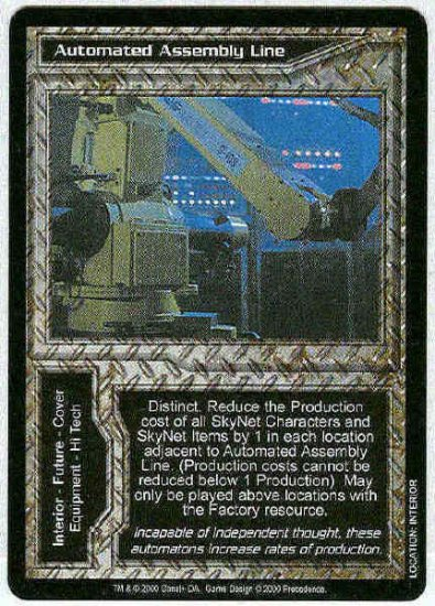 Terminator CCG Automated Assembly Line Uncommon Card