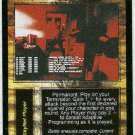 Terminator CCG Adaptive Programming Uncommon Card Unplayed
