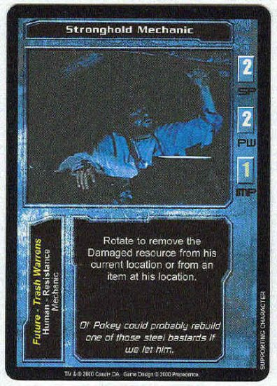 Terminator CCG Stronghold Mechanic Uncommon Game Card