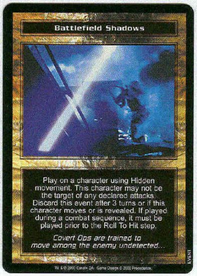 Terminator CCG Battlefield Shadows Uncommon Game Card