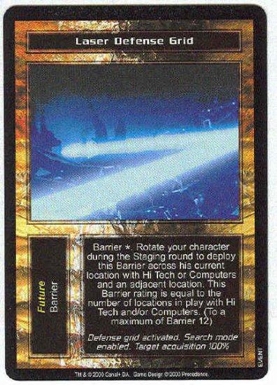 Terminator CCG Laser Defense Grid Uncommon Game Card Unplayed