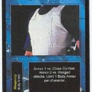 Terminator CCG Kevlar Body Armor Uncommon Game Card Unplayed