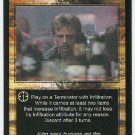 Terminator CCG Blending In Uncommon Game Card Unplayed
