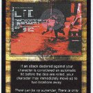 Terminator CCG Deny Fate Uncommon Game Card Unplayed