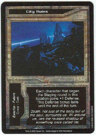 Terminator CCG City Ruins Uncommon Game Card