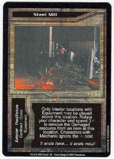 Terminator CCG Steel Mill Precedence Uncommon Game Card