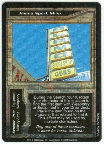 Terminator CCG Alamo Sport Shop Precedence Game Card
