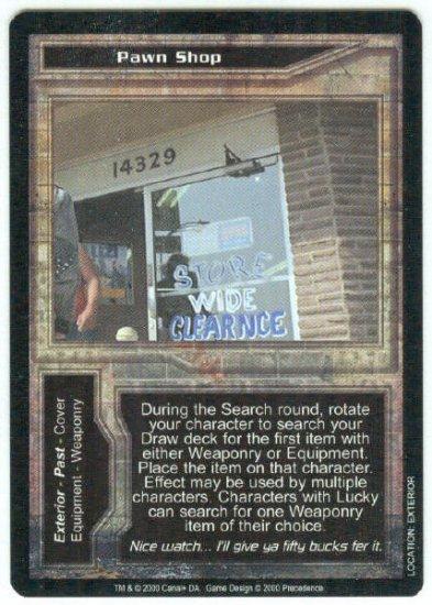 Terminator CCG Pawn Shop Precedence Game Card