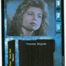 Terminator CCG Sarah J. Connor Game Card Linda Hamilton Unplayed