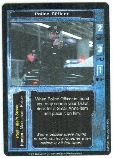 Terminator CCG Police Officer Precedence Game Card Unplayed