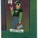 Bloom County Outland #42 Sticker Parallel Trading Card