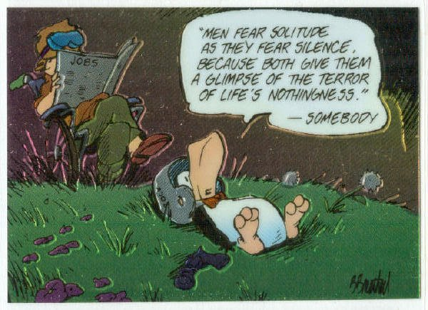 Bloom County Outland #51 Sticker Parallel Trading Card