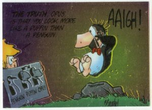 Bloom County Outland #52 Sticker Parallel Trading Card