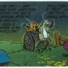 Bloom County Outland #58 Sticker Parallel Trading Card