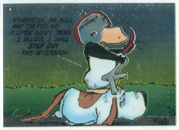 Bloom County Outland #59 Sticker Parallel Trading Card