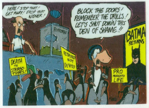 Bloom County Outland #70 Sticker Parallel Trading Card