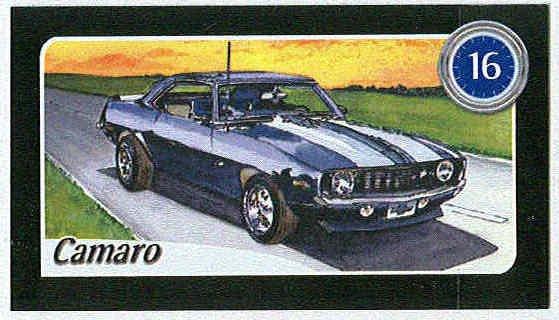 Doral 2004 Card America On The Road #16 Camaro