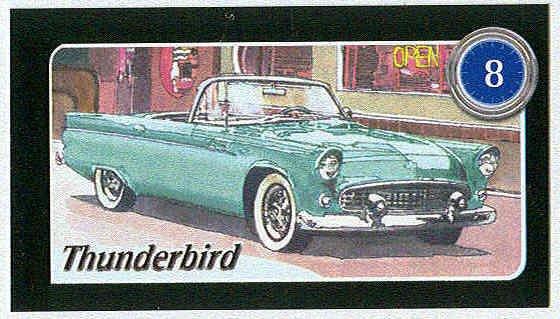 Doral 2004 Card America On The Road #8 Thunderbird