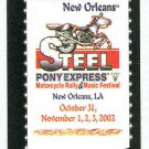 Doral 2003 Card American Festivals #19 New Orleans, LA