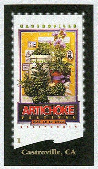 Doral 2003 Card Great American Festivals #1 Castroville, CA