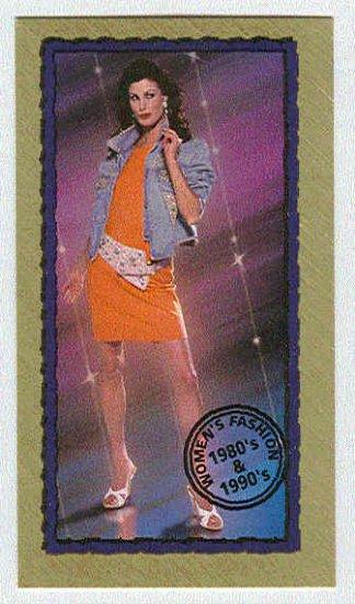 Doral 2001 Card Century Snapshots #25 Women�s Fashion