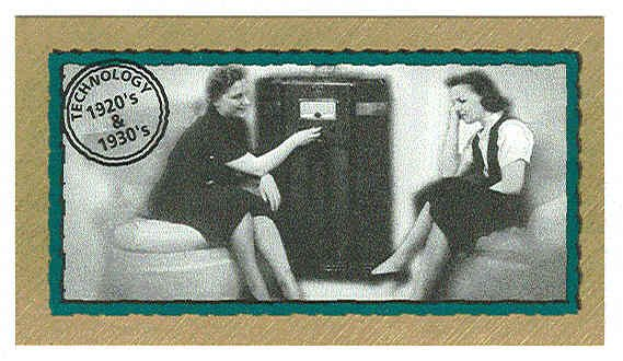 Doral 2001 Card America Century Snapshots #32 Technology
