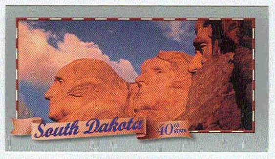 Doral 2000 Card Celebrate America States #40 South Dakota