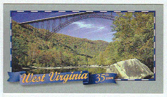 Doral 2000 Card Celebrate America States #35 West Virginia