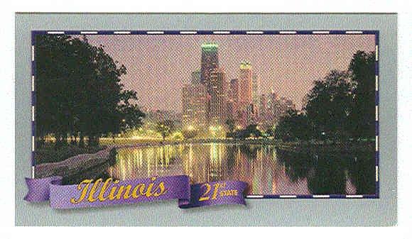 Doral 2000 Card Celebrate America 50 States #21 Illinois