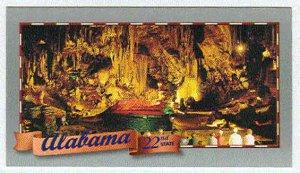 Doral 2000 Card Celebrate America 50 States #22 Alabama