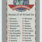 Doral 2000 Card Celebrate America 50 States Second List