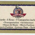 Doral 2001 Card Celebrate America Century Snapshots List
