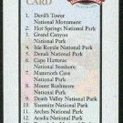 Doral 2005 Card Celebrate American Treasures List Card