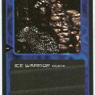 Doctor Who CCG Ice Warrior Black Border Game Trading Card