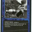 Doctor Who CCG Krotons Black Border Game Trading Card