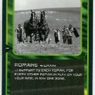 Doctor Who CCG Romans Black Border Game Trading Card