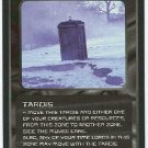 Doctor Who CCG Tardis Black Border Game Trading Card
