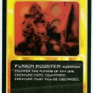 Doctor Who CCG Fusion Booster Black Border Game Card