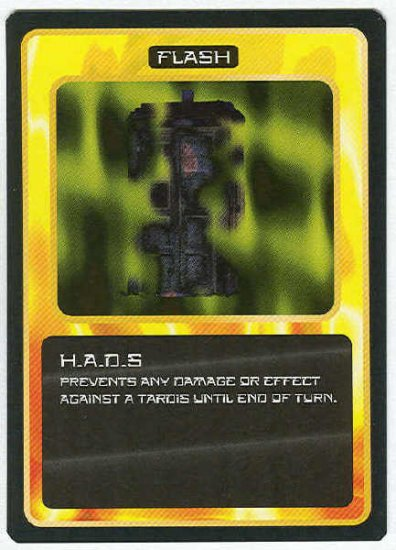 Doctor Who CCG H.A.D.S Black Border Game Trading Card