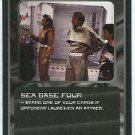 Doctor Who CCG Sea Base Four Black Border Game Card