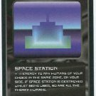 Doctor Who CCG Space Station Black Border Game Card
