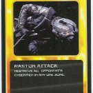 Doctor Who CCG Raston Attack Black Border Game Card