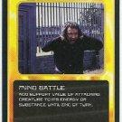 Doctor Who CCG Mind Battle Black Border Game Trading Card