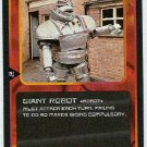 Doctor Who CCG Giant Robot Black Border Game Card