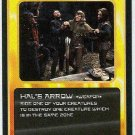 Doctor Who CCG Hal's Arrow Black Border Game Trading Card