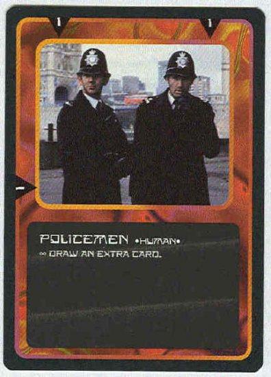 Doctor Who CCG Policemen Black Border Game Card